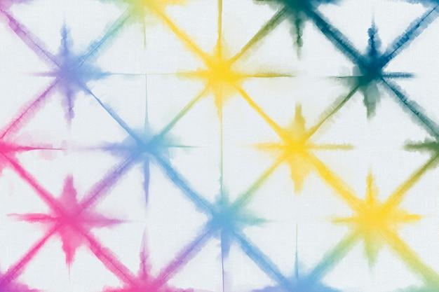 Fundo de padrão de corante arco-íris