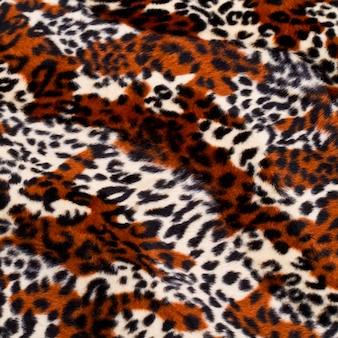 Fundo de padrão de pele de leopardo