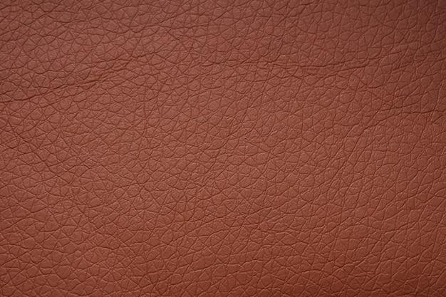 Fundo de padrão de textura de couro marrom natural abstrato