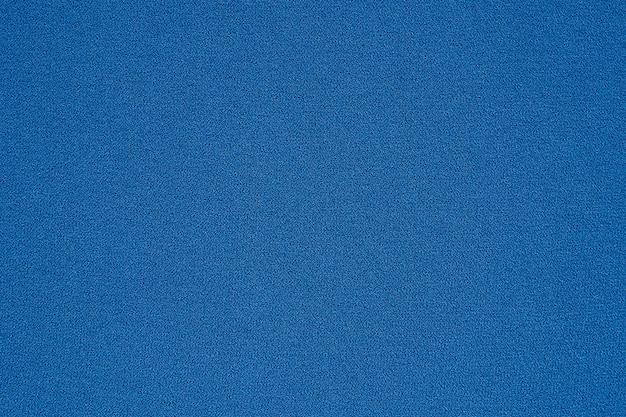 Fundo de padrão de textura de tecido de roupas azuis