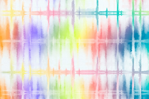 Fundo de padrão de tintura de laço arco-íris