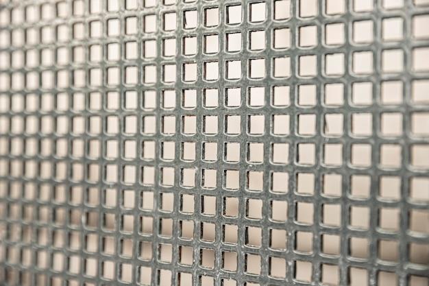 Fundo de painel de cerca industrial de fio de ferro