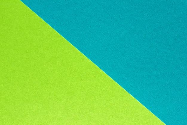 Fundo de papel abstrato azul e verde, textura