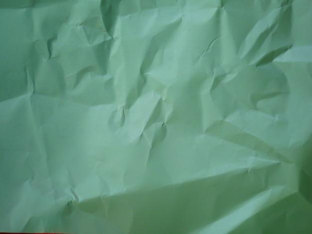 Fundo de papel amassado verde