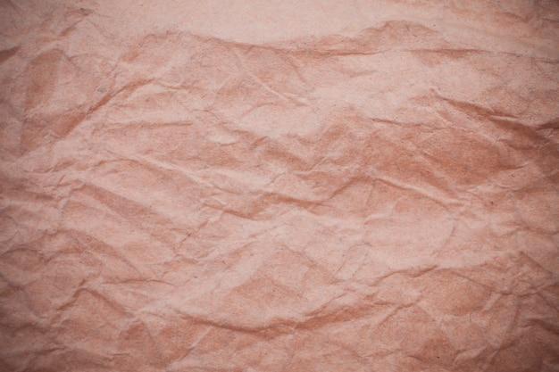 Fundo de papel amassado.