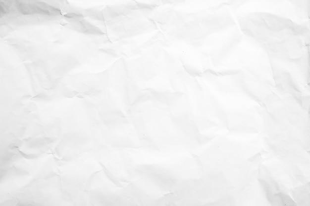 Fundo de papel branco reciclar rugas