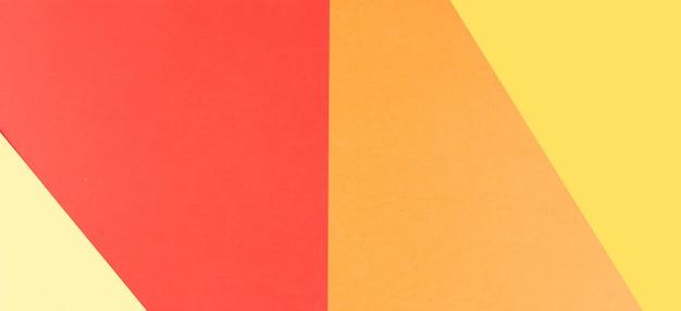Fundo de papel colorido geométrico abstrato