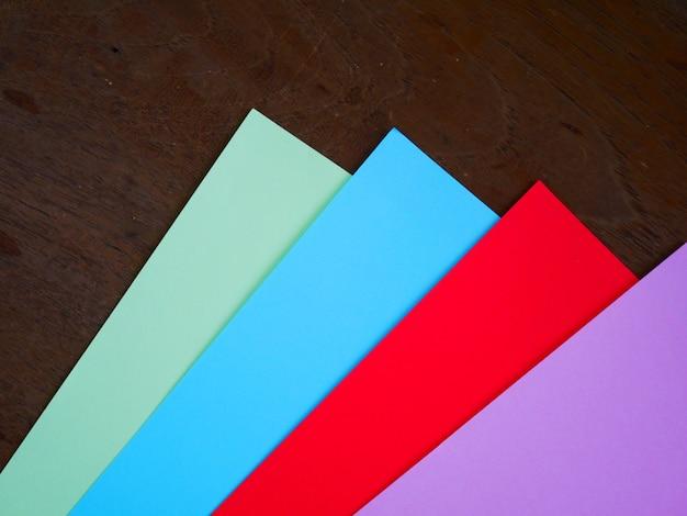 Fundo de papel de cor de conceito