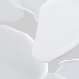 Fundo de papel de parede abstrato com tinta branca