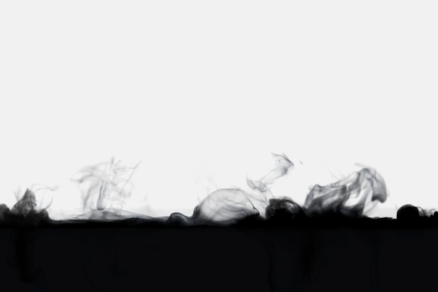Fundo de papel de parede abstrato escuro, desenho de fumaça