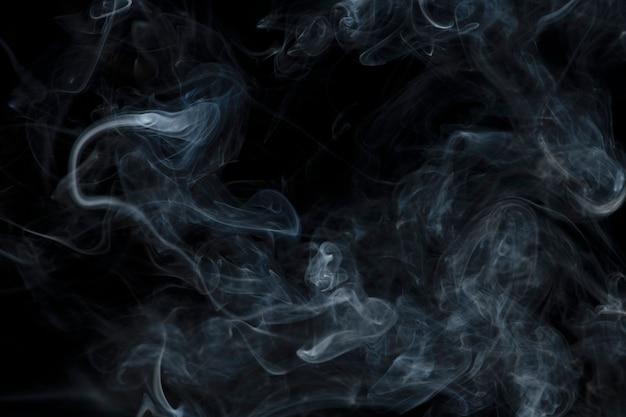 Fundo de papel de parede abstrato escuro, textura de fumaça