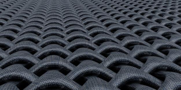 Fundo de papel de parede abstrato geométrico 3d weave