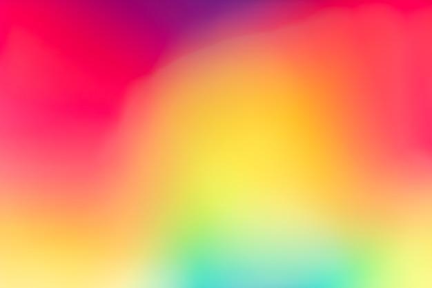 Fundo de papel de parede colorido desfocado vívido