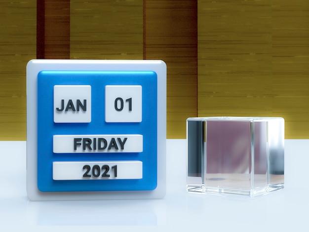 Fundo de papel de parede de feliz ano novo 2021