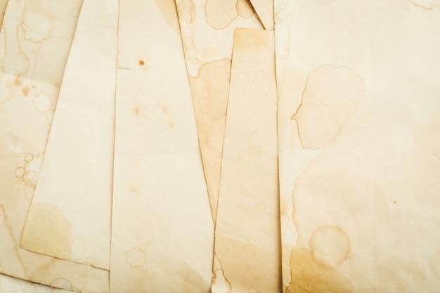 Fundo de papel escrito vintage. fechar-se. foto de alta qualidade