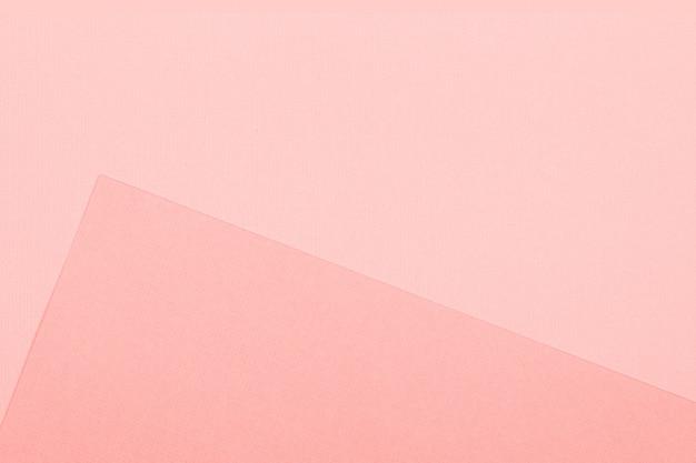 Fundo de papel geométrica. maquete de cor viva para lay flat