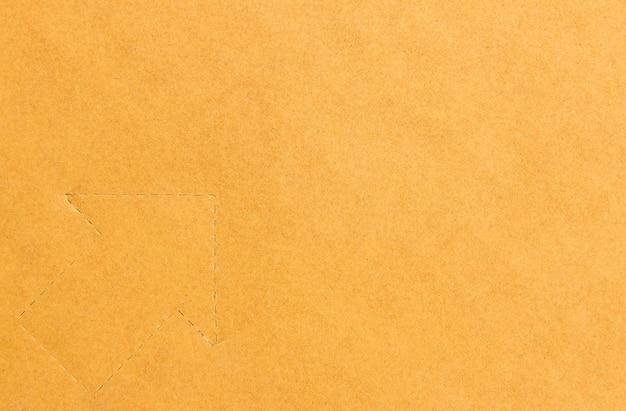 Fundo de papel marrom para criar criativo de pano de fundo
