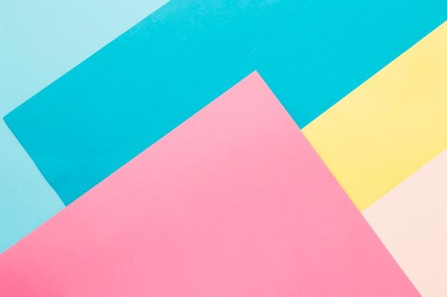 Fundo de papel multicolorido