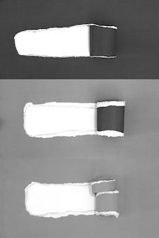 Fundo de papel rasgado, cópia espaço para texto de publicidade criativa