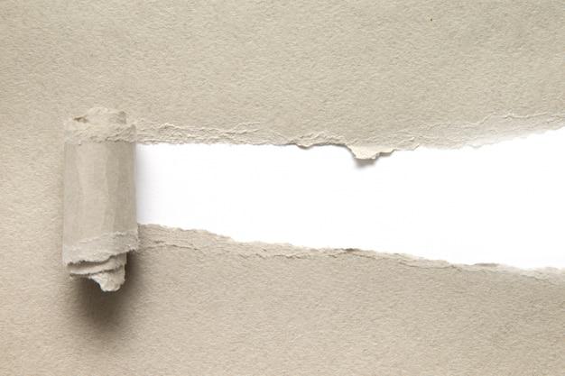 Fundo de papel rasgado