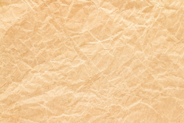 Fundo de papel reciclar rugas marrons