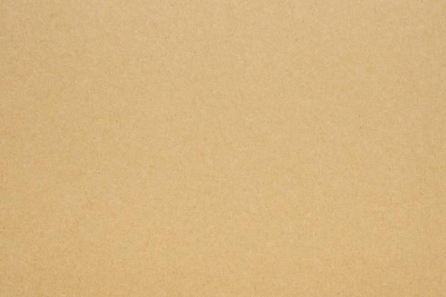 Fundo de papelão com textura de folha kraft reciclada de papel marrom