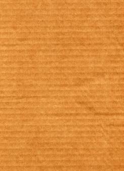 Fundo de papelão ondulado marrom