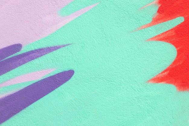Fundo de parede abstrato pintado à mão