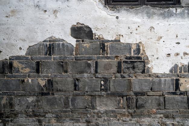 Fundo de parede antigo, textura de parede