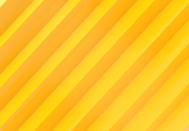 Fundo de parede de barras paralelas de cor de tom amarelo diagonal tom moderno.
