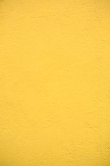 Fundo de parede de cimento de textura amarela