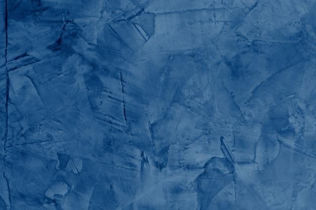 Fundo de parede de concreto azul sujo