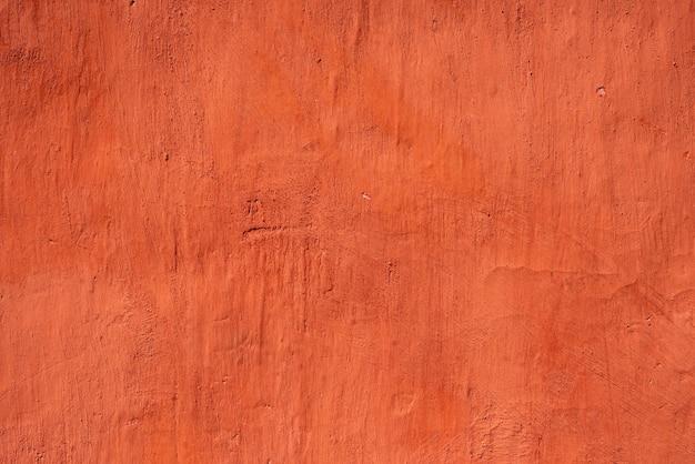 Fundo de parede de estuque vermelho altamente detalhado