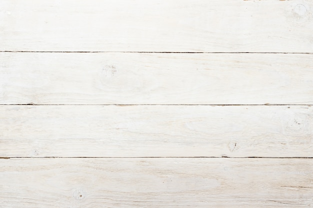 Fundo de parede de madeira branco vintage