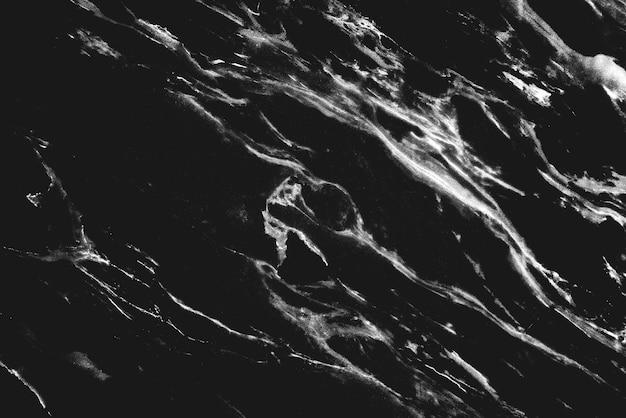 Fundo de parede de mármore preto texturizado