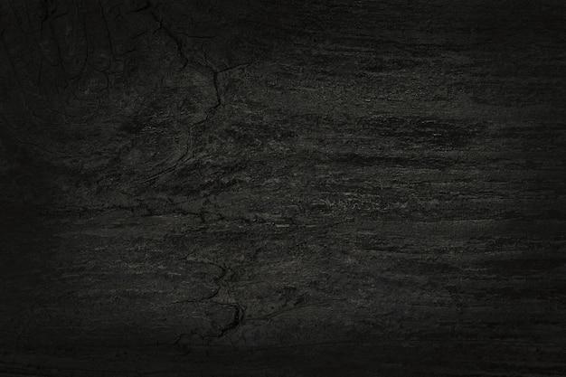 Fundo de parede de prancha de madeira preta, textura de madeira de casca com antigo padrão natural.