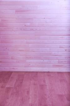 Fundo de parede de prancha de madeira