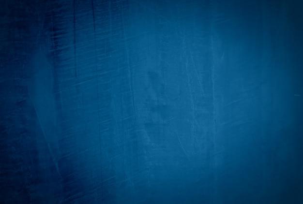Fundo de parede de textura de concreto vintage grunge azul