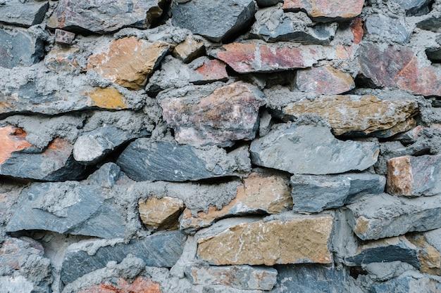 Fundo de parede de textura de rocha