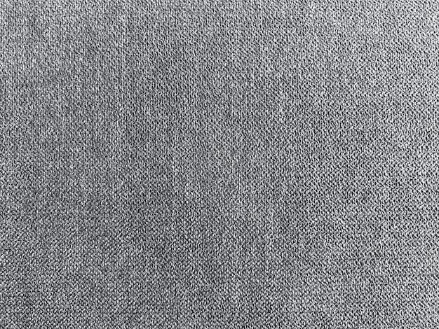 Fundo de parede de textura de tecido cinza escuro.