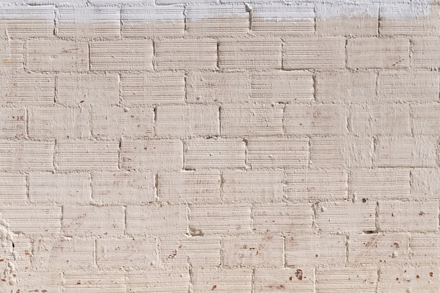 Fundo de parede de tijolo pintado
