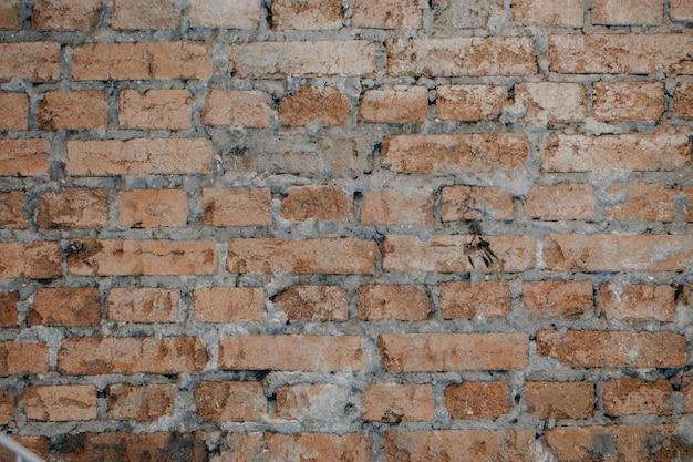 Fundo de parede de tijolo velho grunge vintage de textura