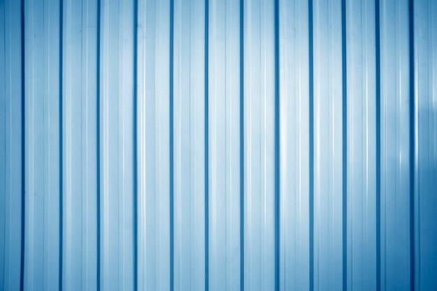 Fundo de parede de zinco azul, fundo de textura de folhas de metal de zinco.