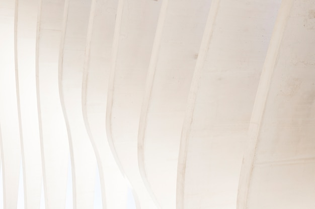 Fundo de parede geométrico abstrato sem costura branco