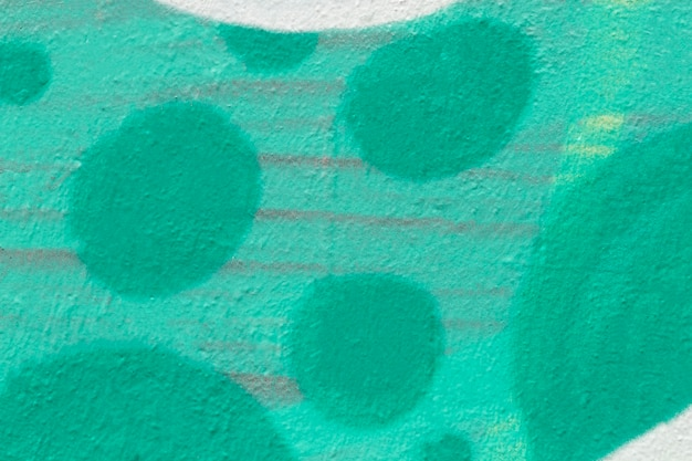 Fundo de parede pintado de verde