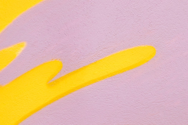 Fundo de parede rosa e amarelo