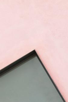 Fundo de parede rosa e cinza