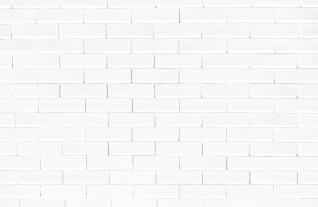 Fundo de parede texturizada de tijolo branco