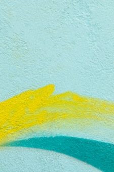 Fundo de parede texturizado pintado