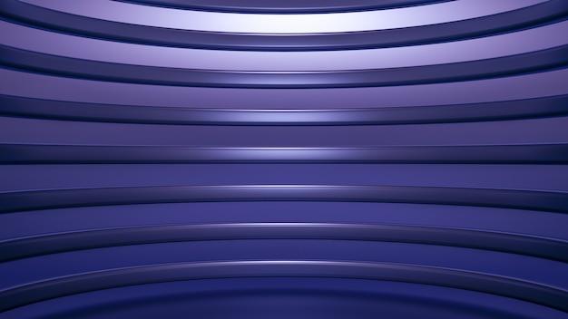 Fundo de pedestal de estúdio elegante de luxo elegante. ilustração 3d, renderização em 3d.